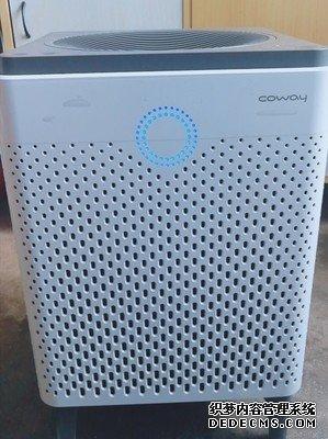 COWAY cadr505空气净化器好用吗?净化前后空气质量变化大吗?
