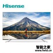 看点十足:海信HZ55E5D电视质量好不好?用户评价评分高吗?