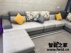 南方现代简约布艺沙发使用大半年,是时候评价一下!