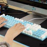 「键盘必看报告」灵蛇K845青轴机械键盘质量评测怎么样好不好用?